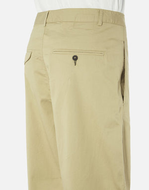 Universal Works Bakers Pant In Tan Fine Twill