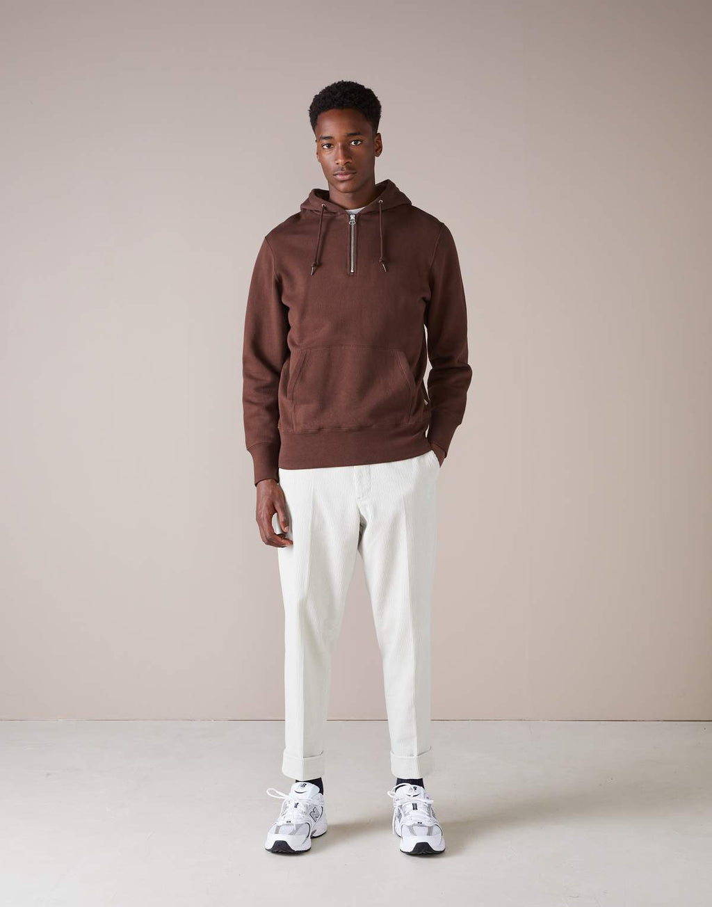 Bellerose Badux Sweatshirt Coffee