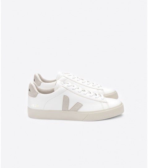 Veja Campo leather white natural