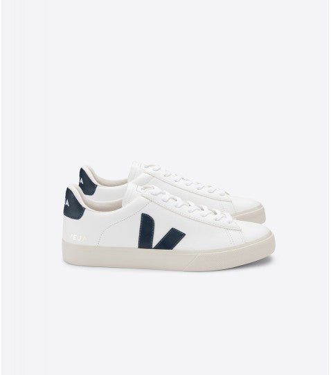 VEJA CAMPO white nautico leather