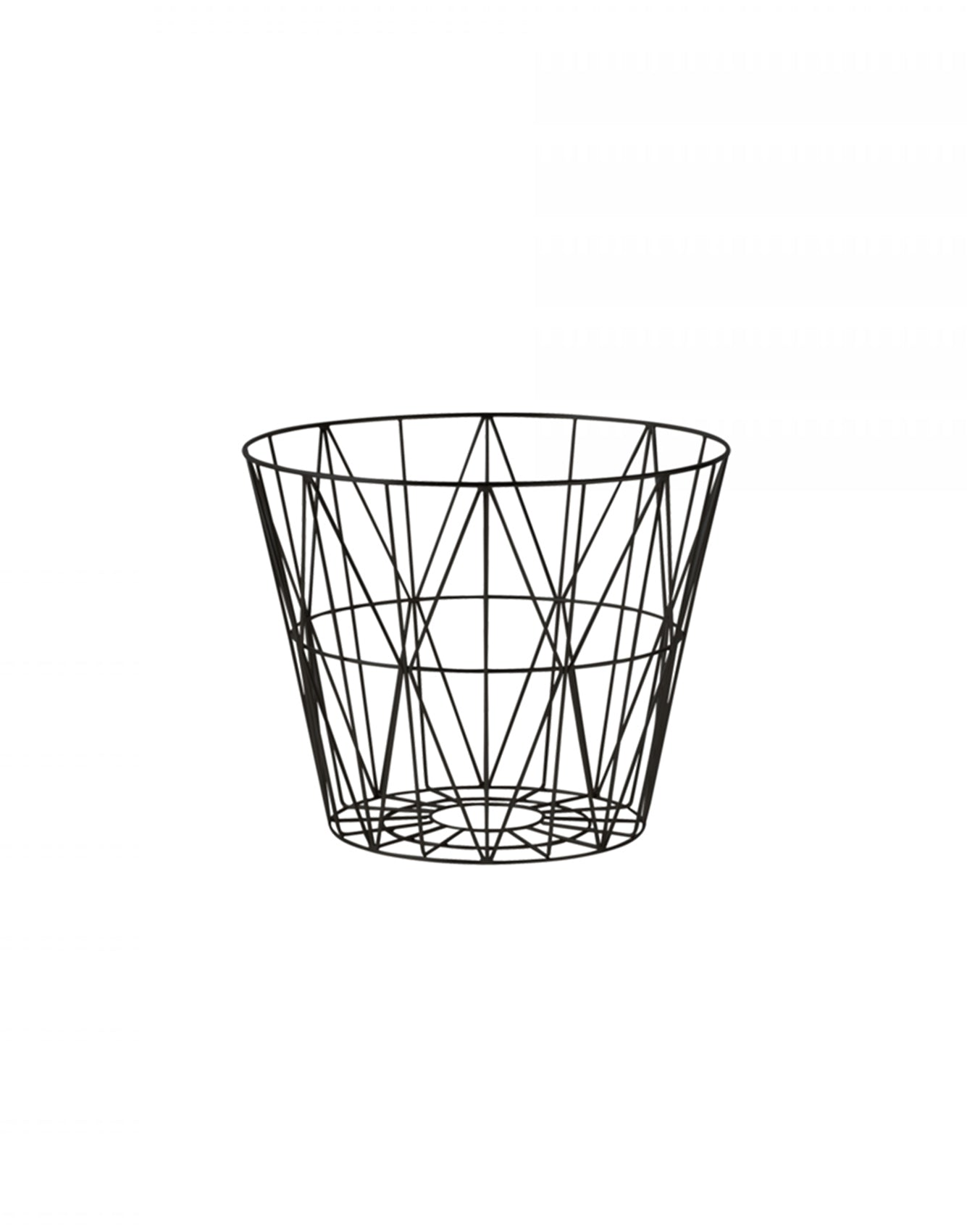 Ferm Living Wire Basket Medium black