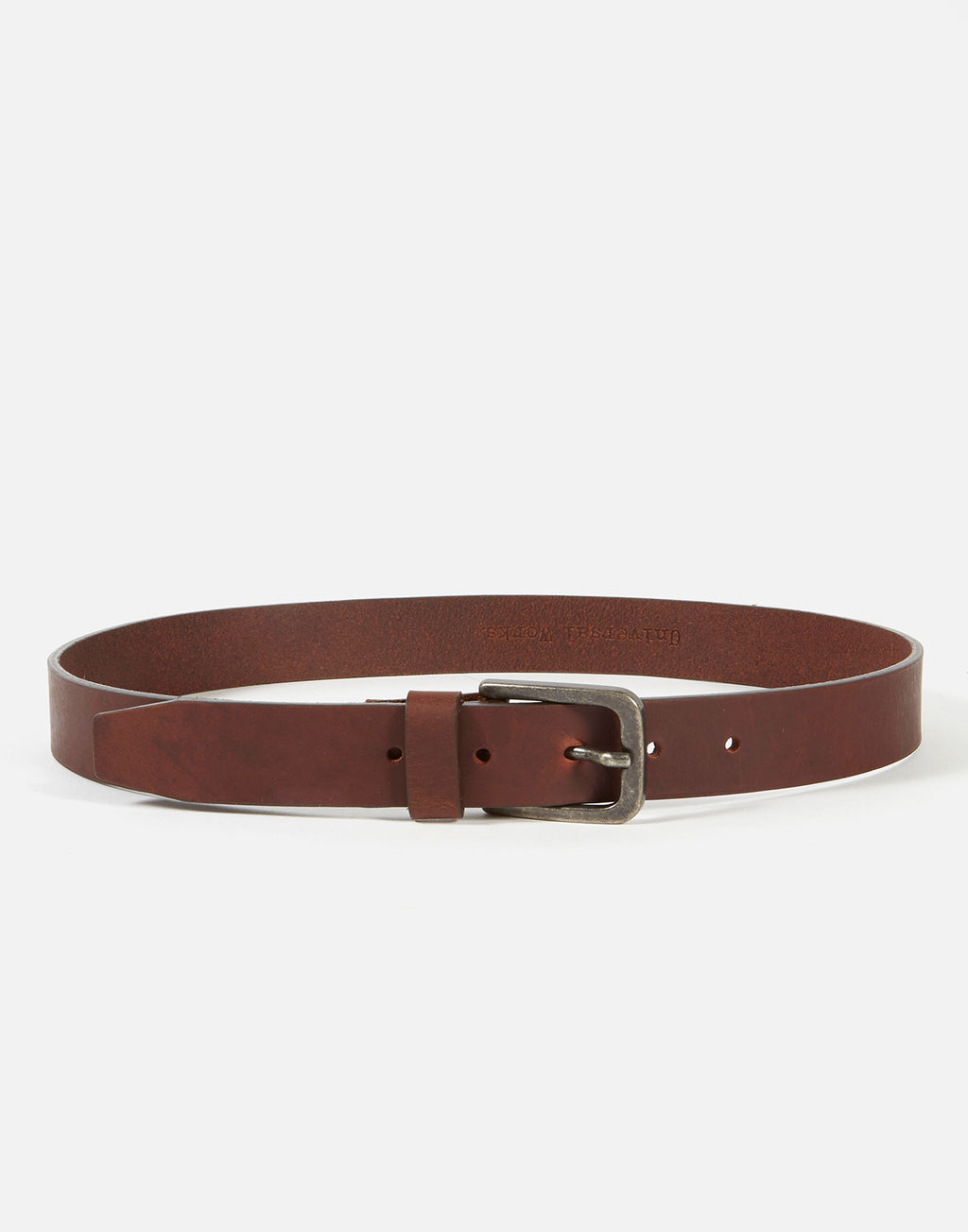 Universal Works Everyday Belt Dark Brown