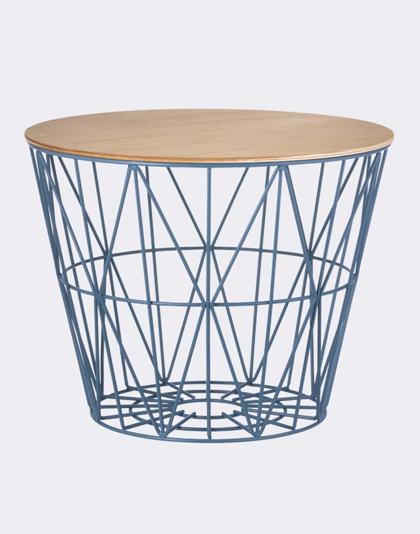 Ferm Living Wire Basket Large petrol