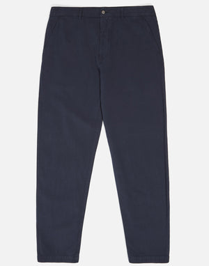 Universal Works Military Chino Linen Cotton navy