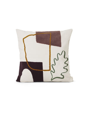 Ferm Living Mirage Cushion Leaf