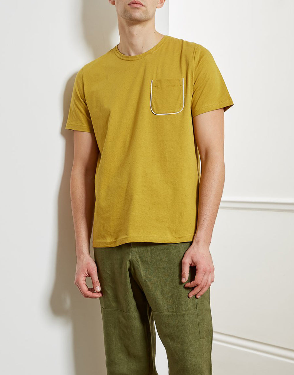 Oliver Spencer Oli's T-Shirt Warren Yellow