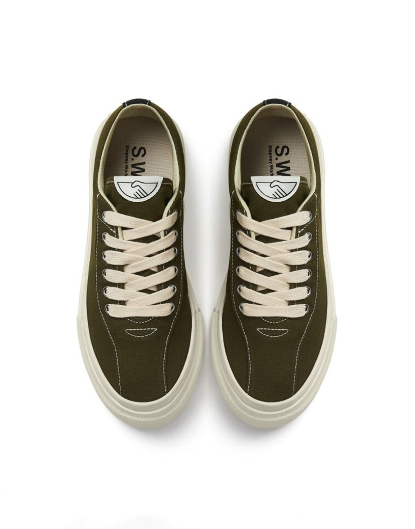 SWC Dellow Shoes Canvas Olive