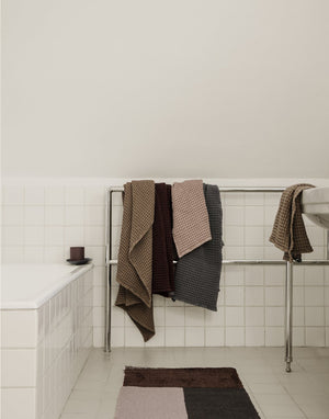 Ferm Living Pile Bathroom Mat Brown