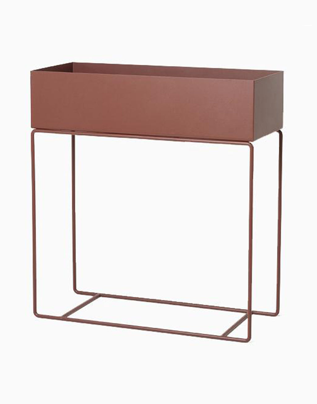 Ferm Living Plant Box red brown