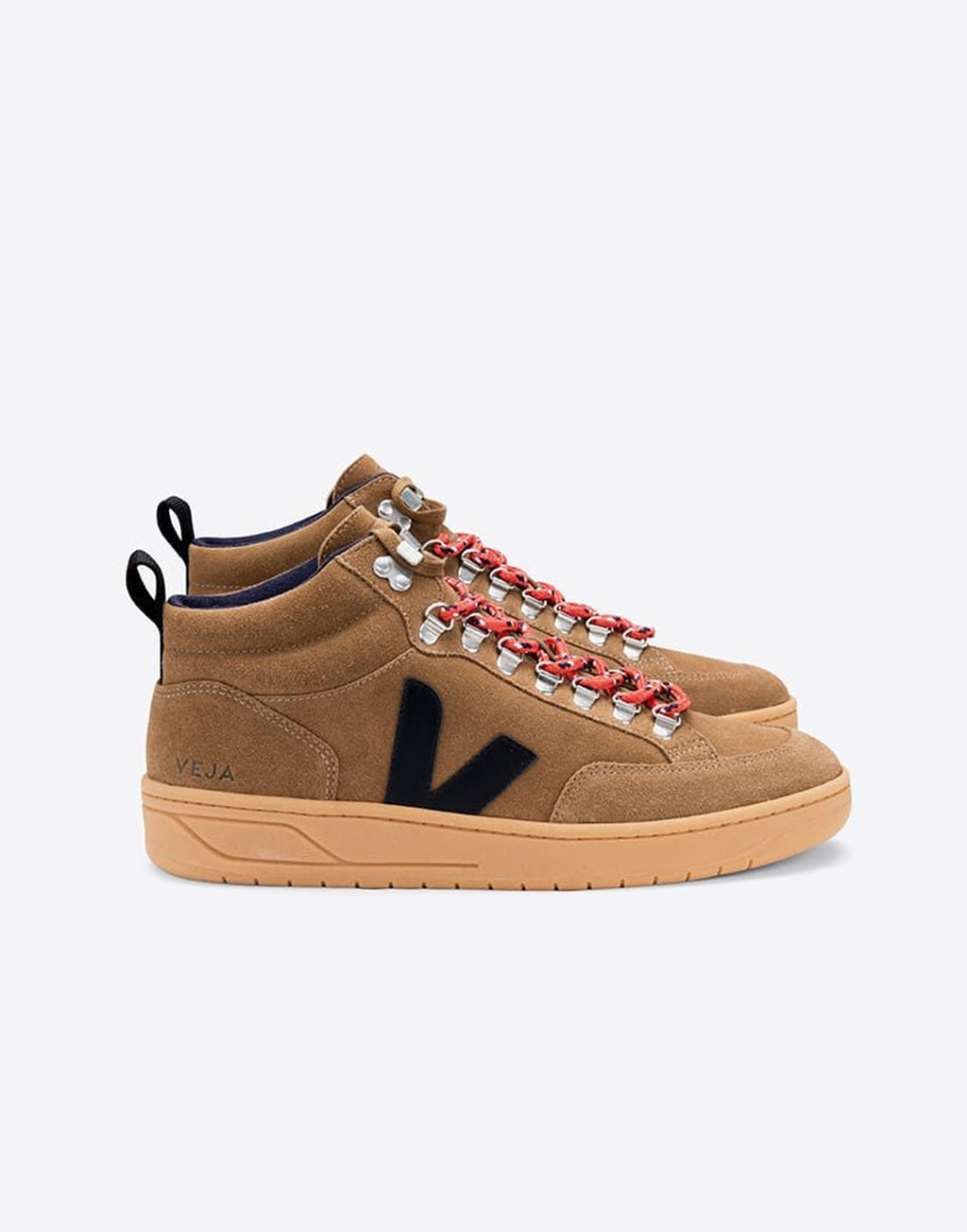 VEJA Roraima Suede Brown Black Gum Sole