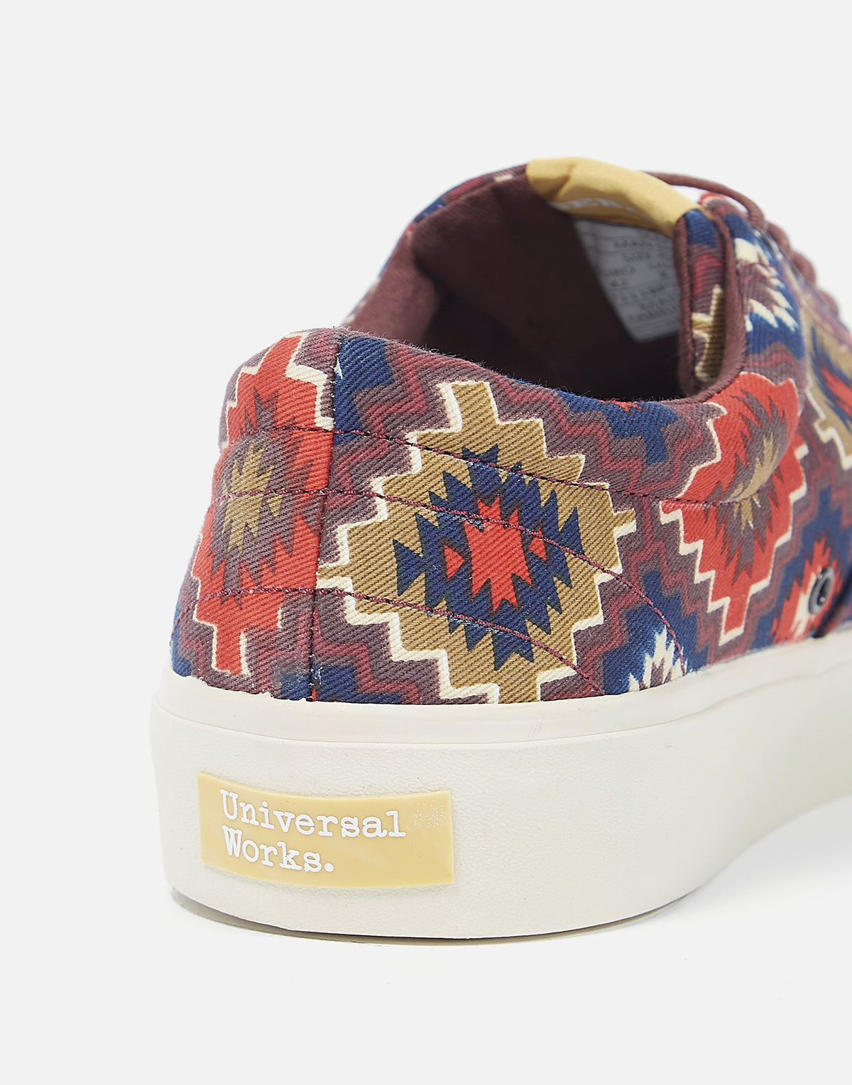Universal Works X Sebago Santa Fe John In Canvas brown