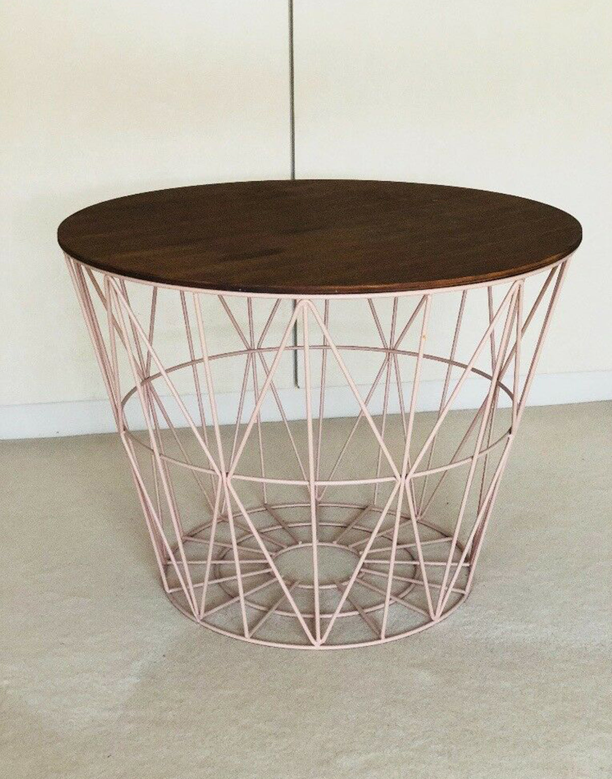 Ferm Living Wire Basket Top Large smoked oak
