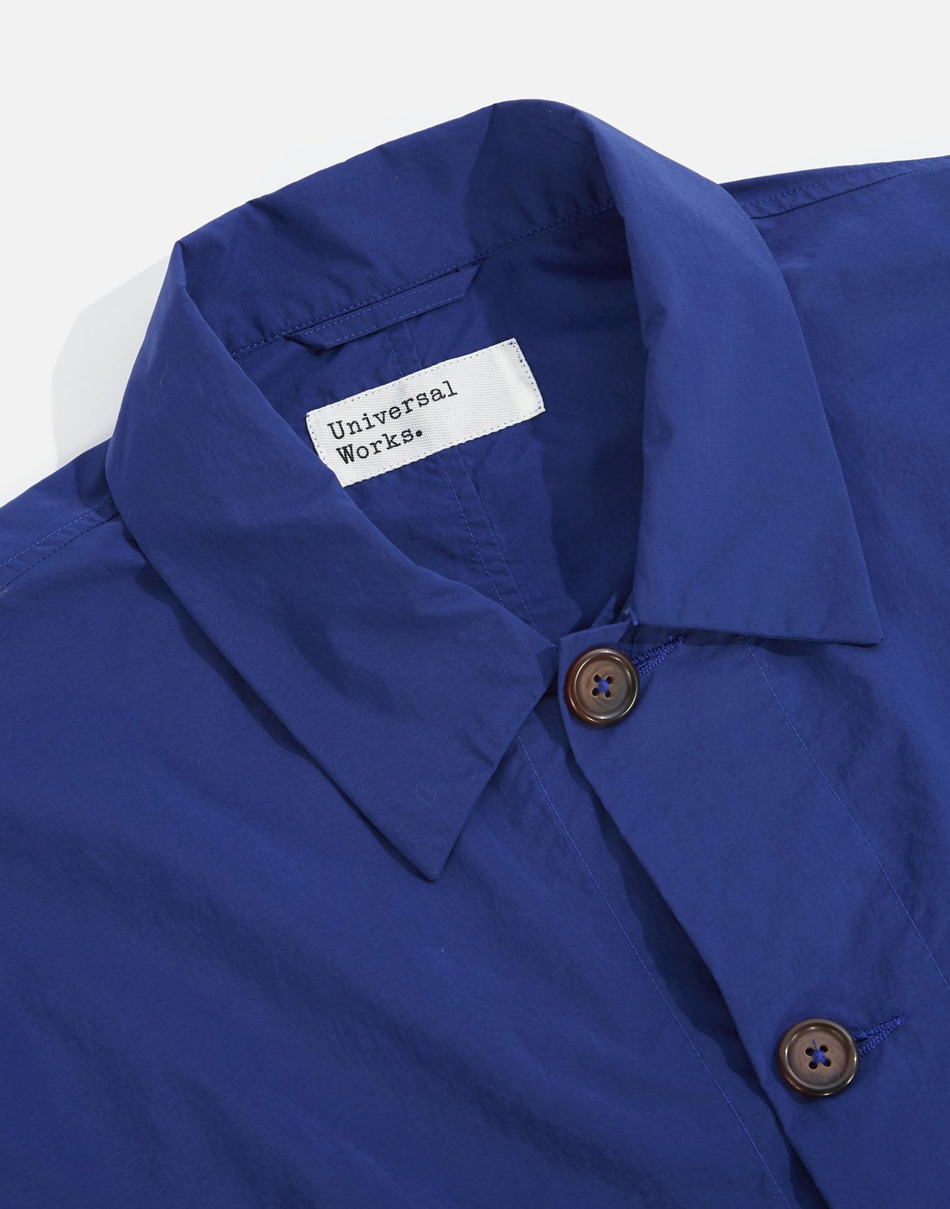 Universal Works Travail Shirt Blue
