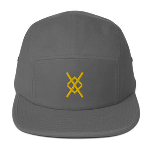 Stay Gold X Gear Logo Five Panel Cap