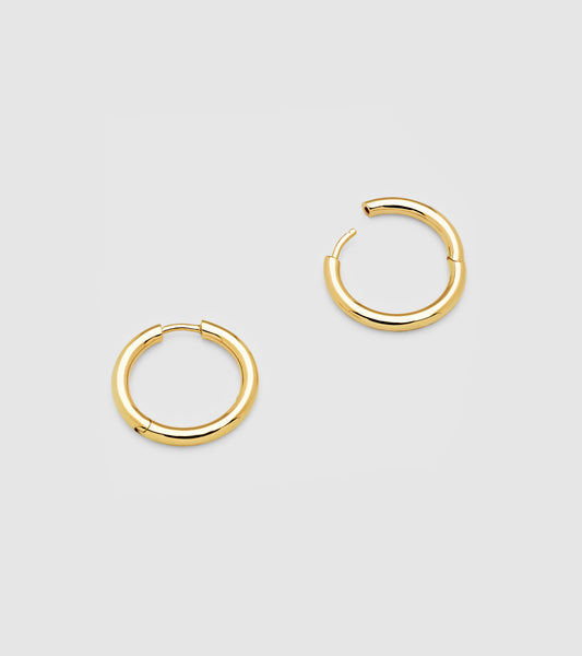 Classic Hoop Medium Gold