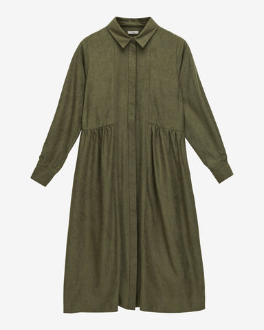 Ebner Dress WRP - Forest