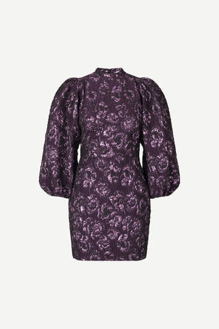 Harriet short dress 12905 - Purple Jasper