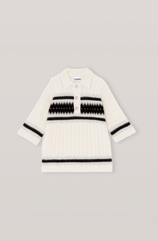 Alpaca Knit - White