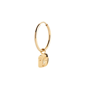 FRIEND EARRING GOLD