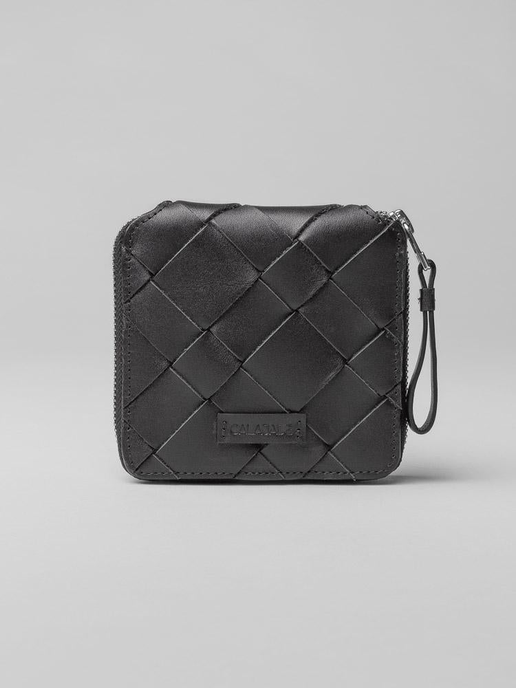 IGGI ZIP WALLET - BLACK