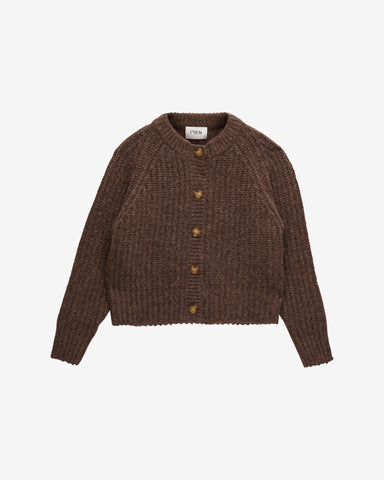 Myles Cardigan WRP - Chocolate