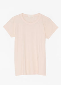 THE SLUB TEE - BLUSH