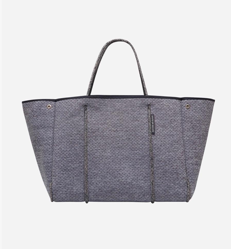 Escape Tote - Luxe Charcoal Marle