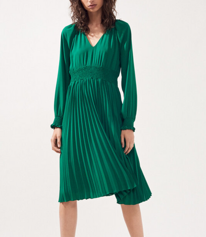 ROBE CAISY - GREEN