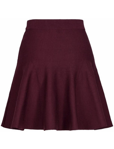 DESIREE SKIRT - BURGUNDER