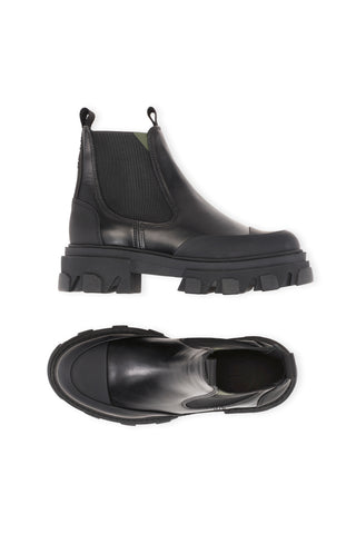 Low Chelsea Boot - Black