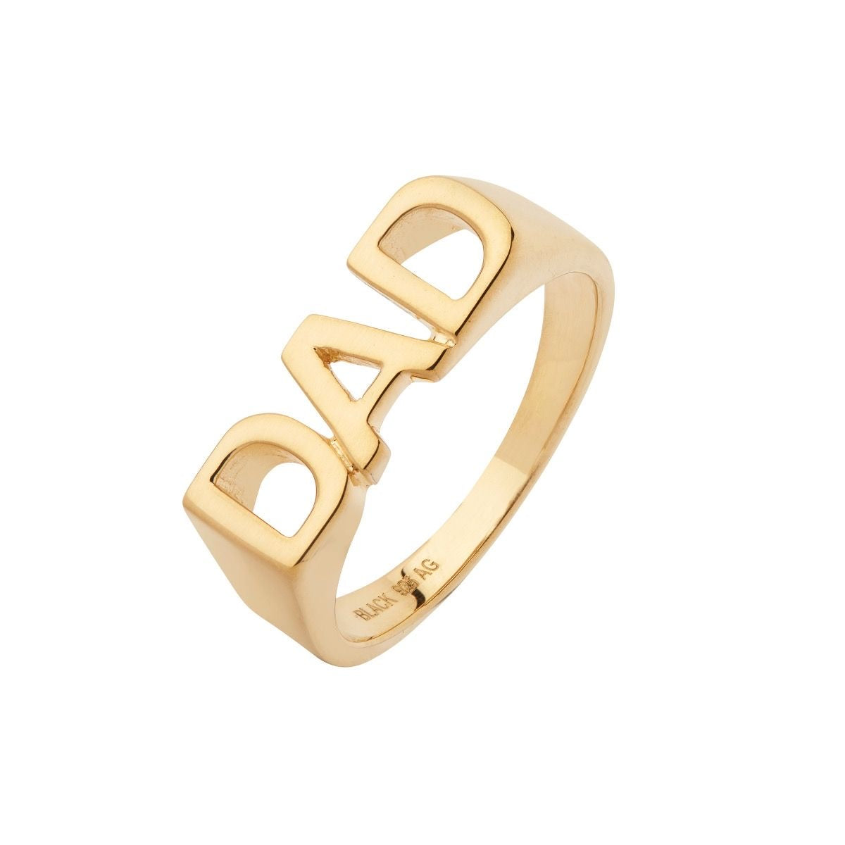 DAD RING - Gold plated
