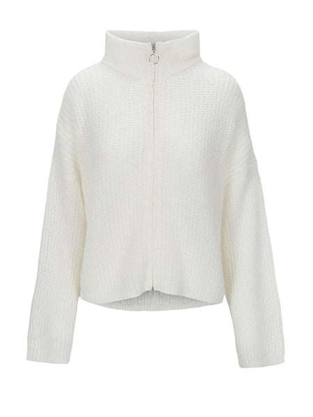 Florie Zipped Jacket - Offwhite