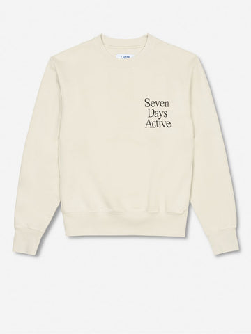 Monday crew neck - Shell Cream