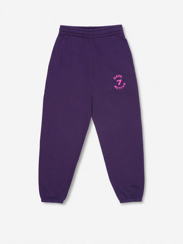Monday pants - Grape Purple