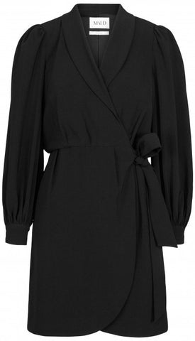 BLAZER WRAP DRESS