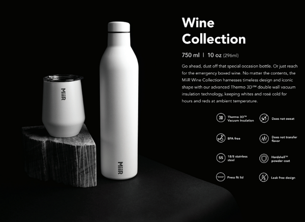 WINE BOTTLE BLACK