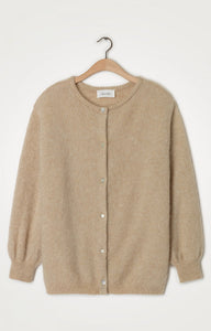 ZABIDOO CARDIGAN - SHEEP MELANGE