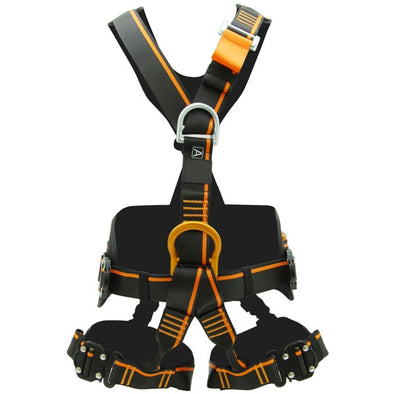 Harness with 3 attachment points and belt