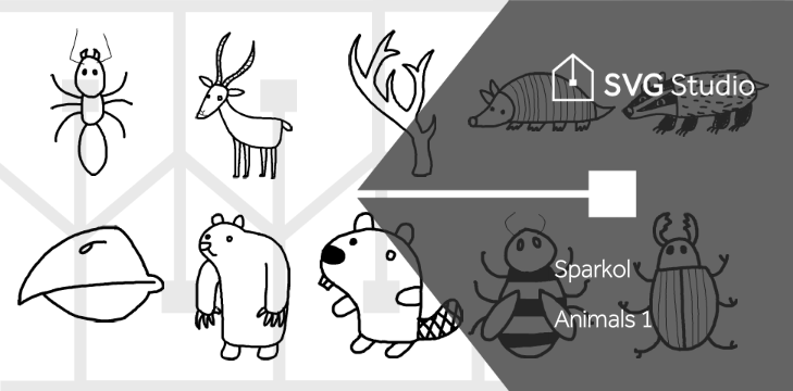Animals 1 images from svgstudio.com