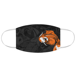 Orange Koi Fabric Face Mask USA