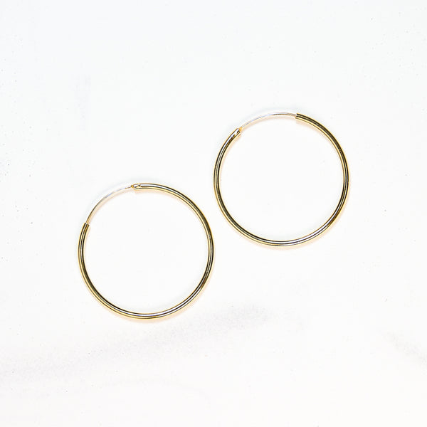 Roma Hoop · Earrings