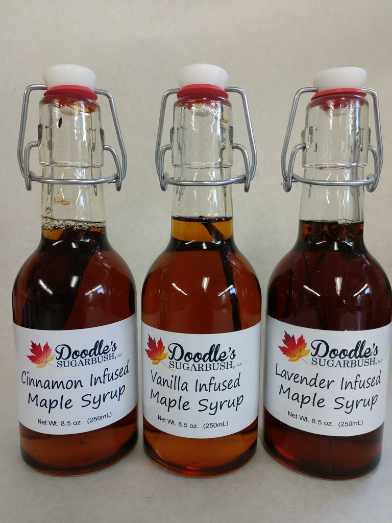 Flavor Infused Maple Syrups - Sweet, Savory & Unique