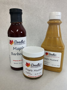 Maple Mustard and BBQ Sauce