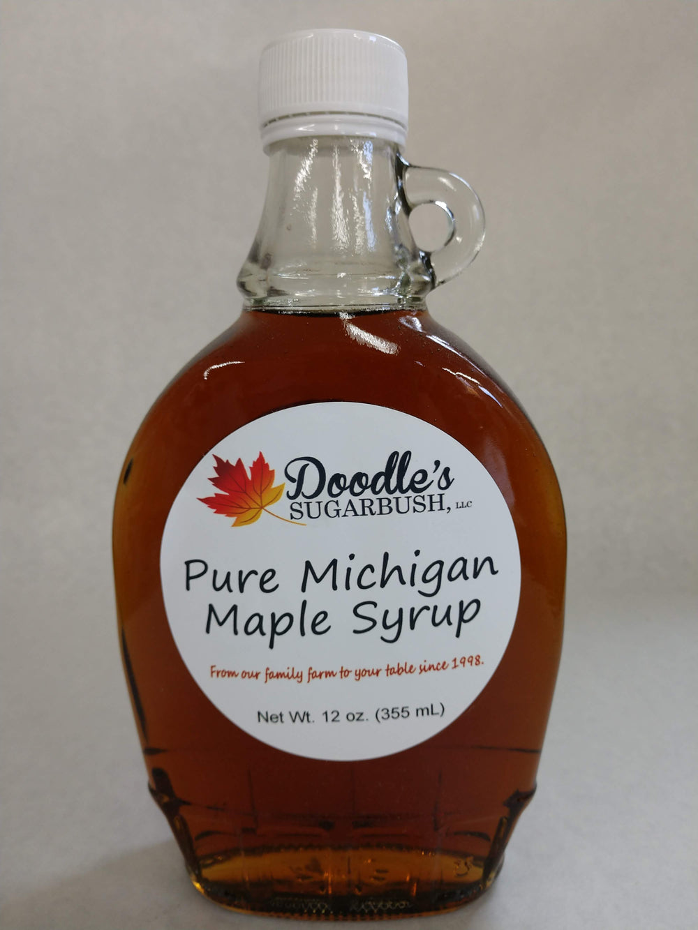Grade A Maple Syrup - Glass Containers