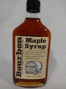 Bourbon Barrel Aged Maple Syrup