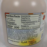 Grade A Maple Syrup - Plastic Containers
