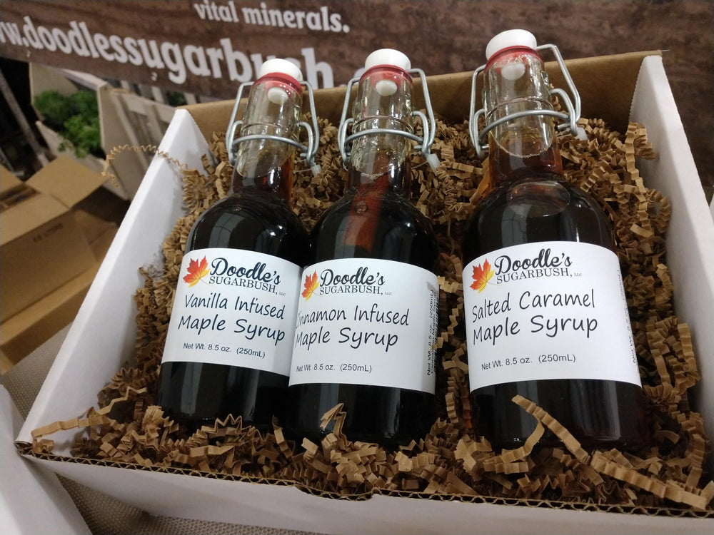Trio of Maple Syrup Infusions