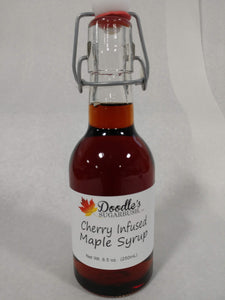 Cherry Infused Maple Syrup