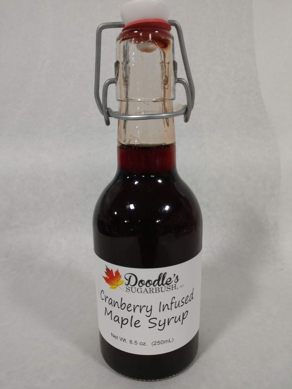 Cranberry Infused Maple Syrup