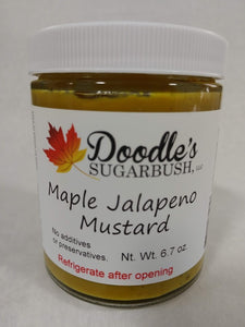 Maple Jalapeno Mustard
